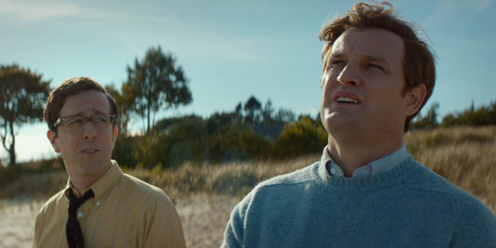 Chappaquiddick — Ed Helms and Kennedy Beach